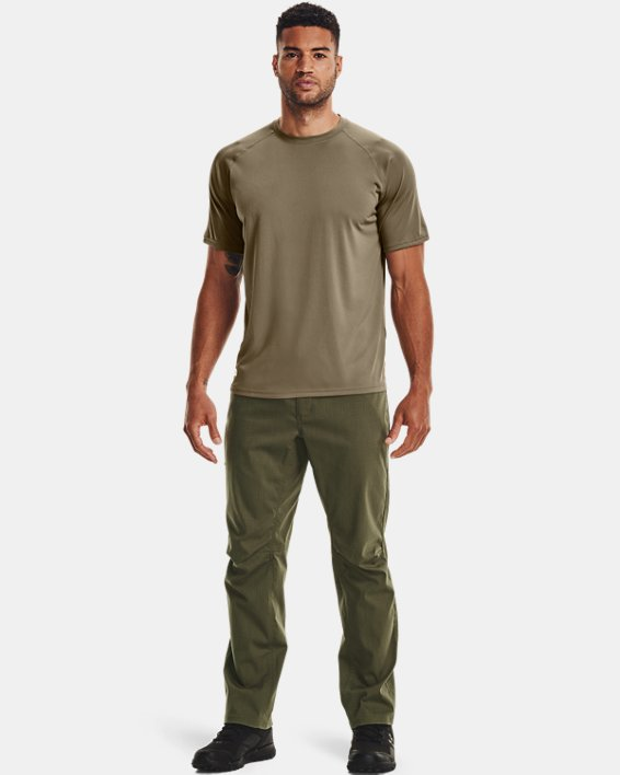 T-Shirt à manches courtes UA Tactical Tech™ pour homme, Brown, pdpMainDesktop image number 3