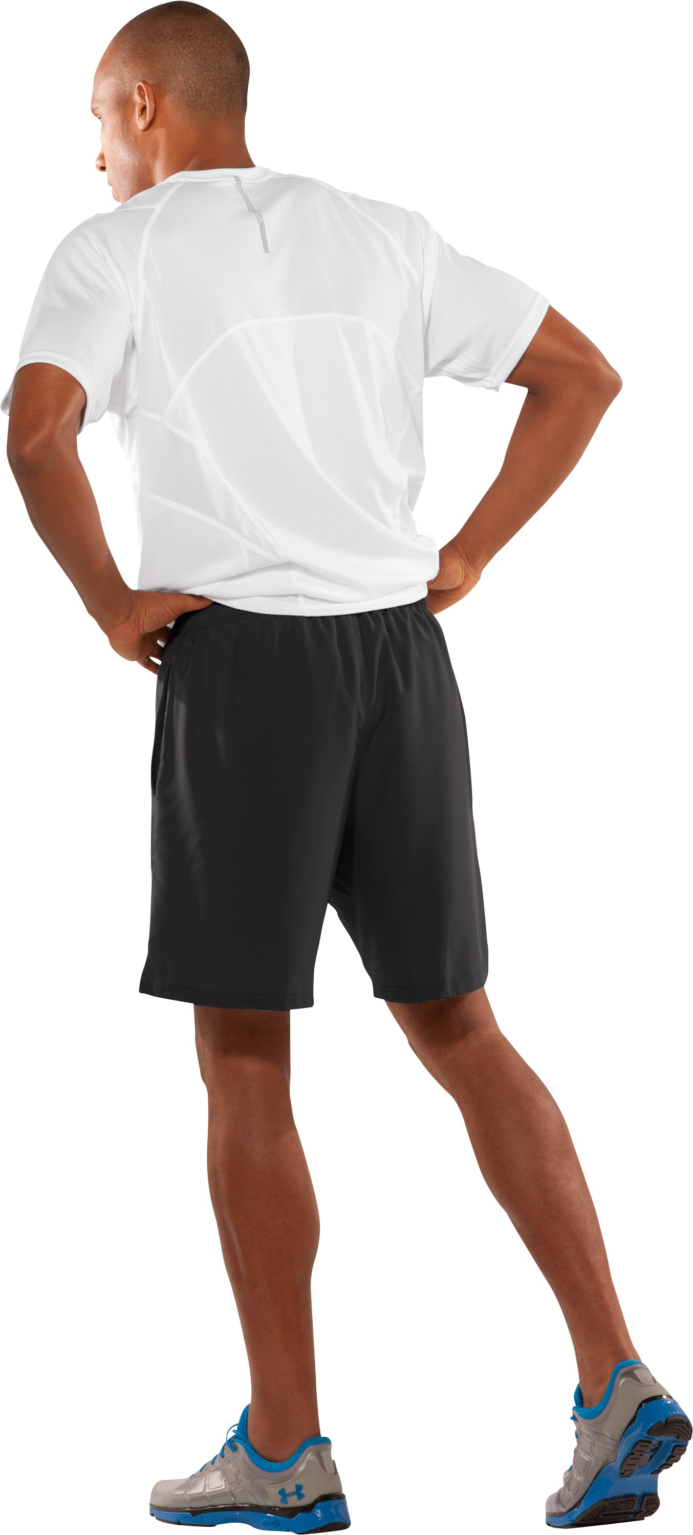 "Men's 7"" Escape II Shorts, Black , Back"