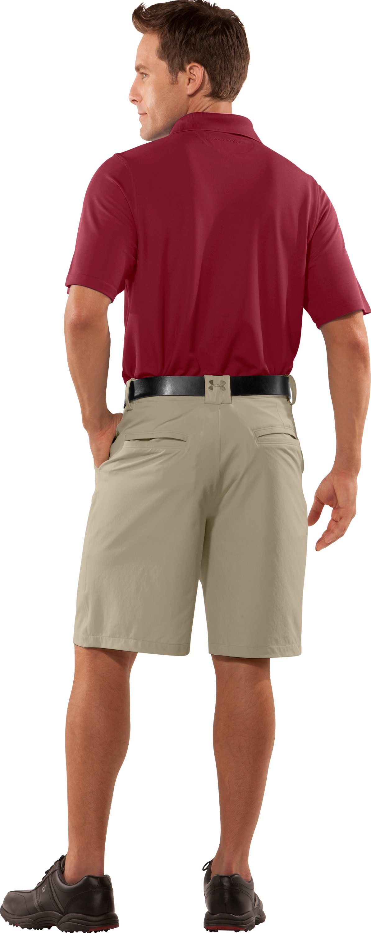 Men's Bent Grass Shorts, Canvas, Back
