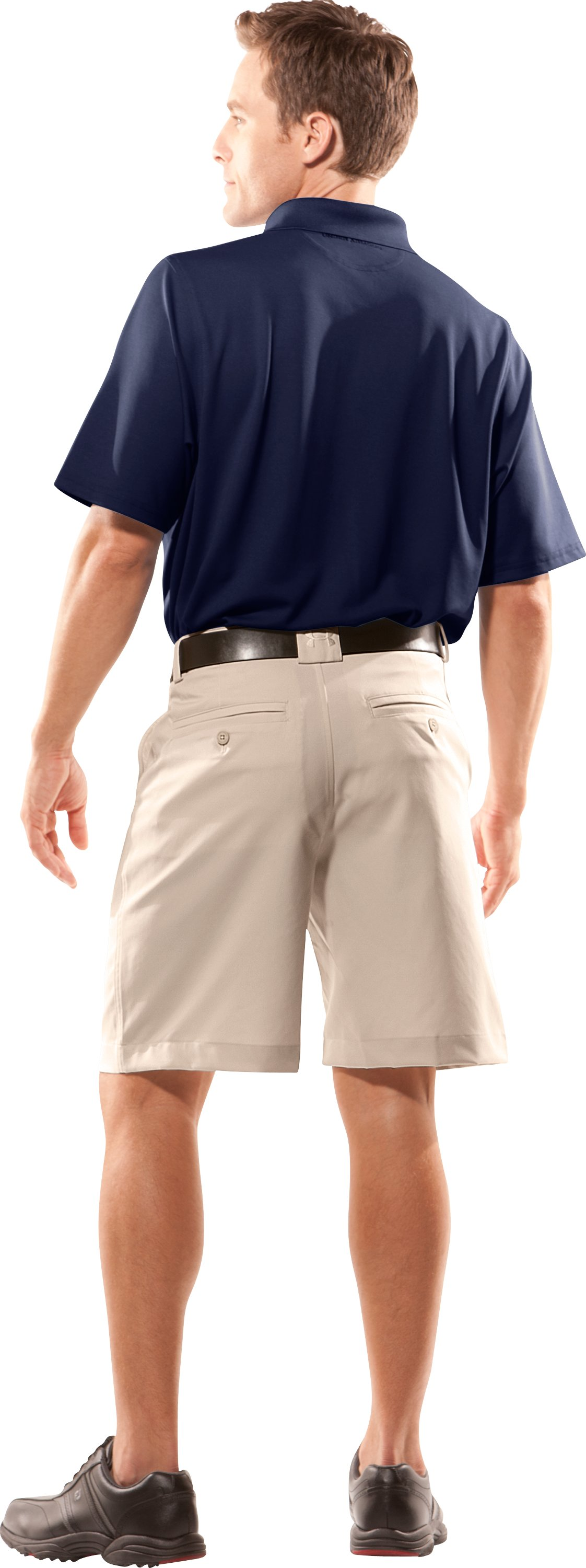 Men's Heritage Golf Shorts, Dune, Back