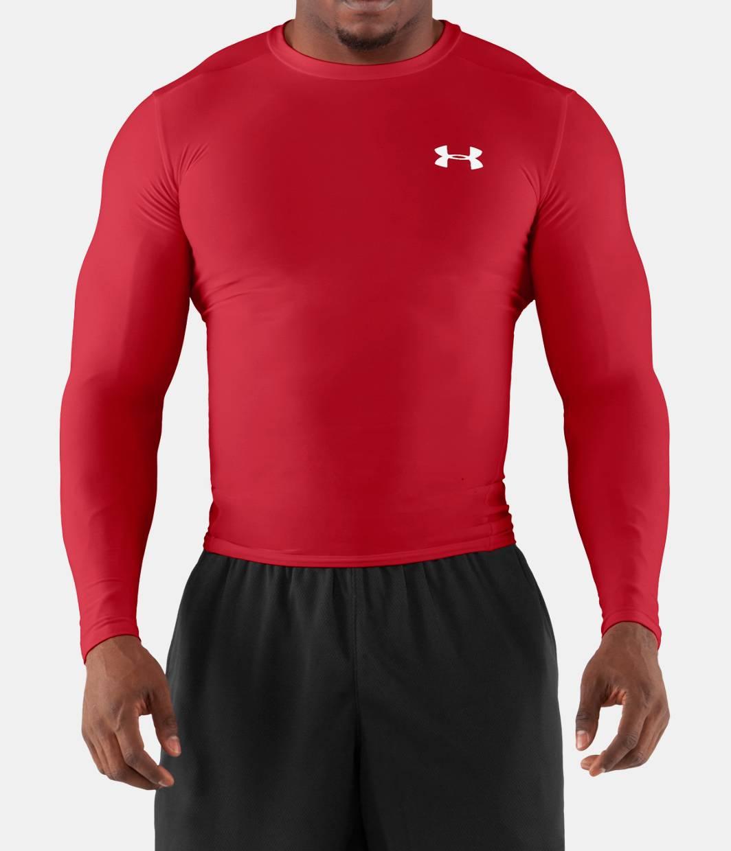 Men s heatgear compression long sleeve t shirt under for Under armour long sleeve t shirts women