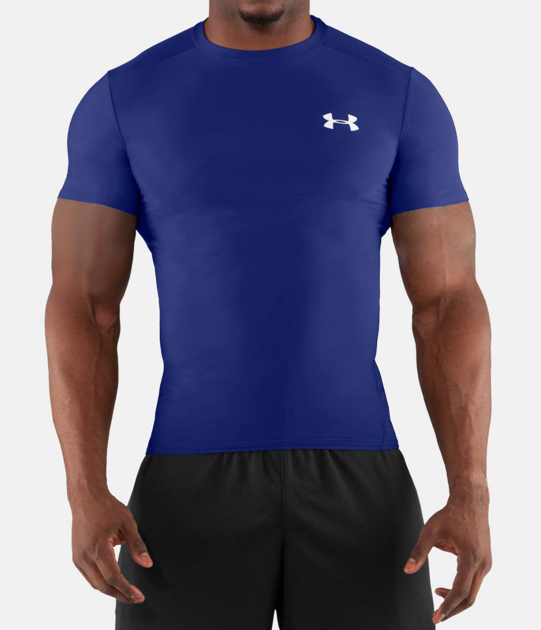 Men s heatgear compression short sleeve t shirt under for Under armour i will shirt