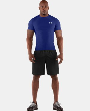 Men's HeatGear® Compression Short Sleeve T-Shirt  1 Color $18.99