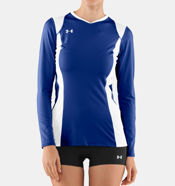 b4fd2418245 Women s UA Kill Long Sleeve Volleyball Jersey