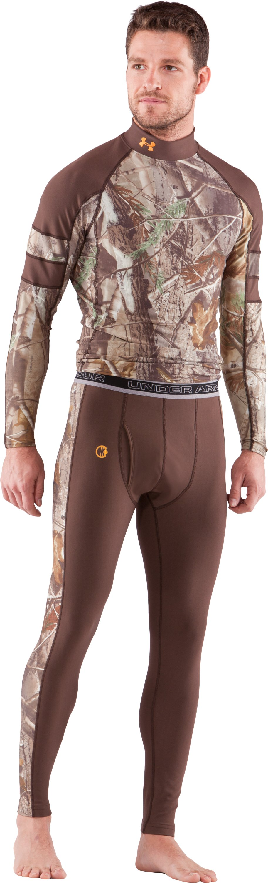 Men's UA Capture Compression Hunting Leggings, Timber