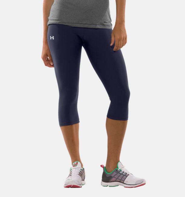 Women's UA HeatGear® Capri Tights | Under Armour US