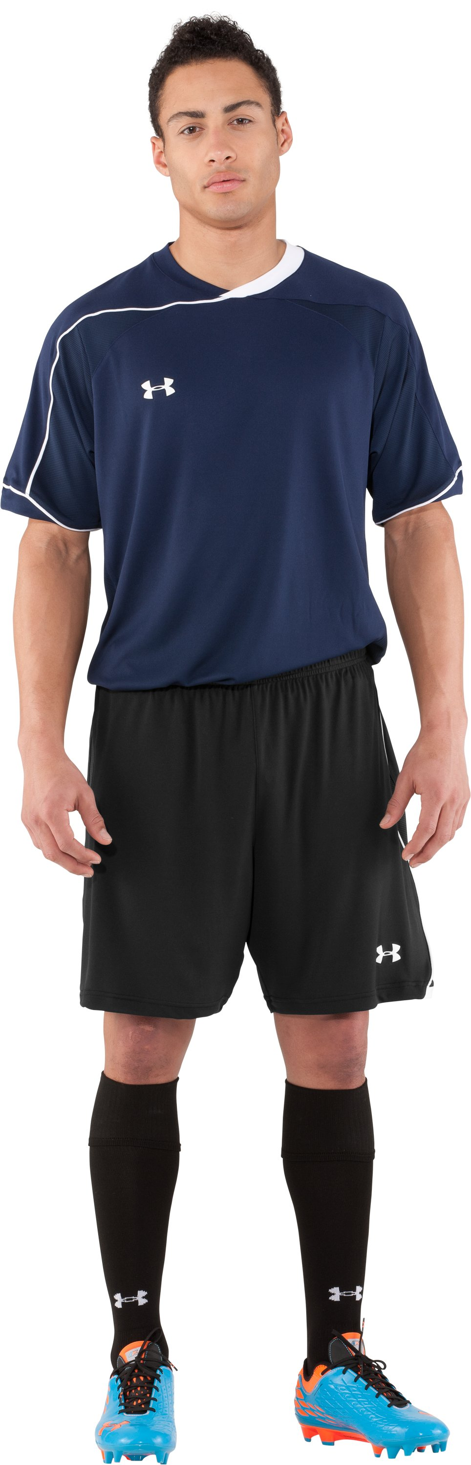 Men's UA Strike Soccer Shorts, Black , Front