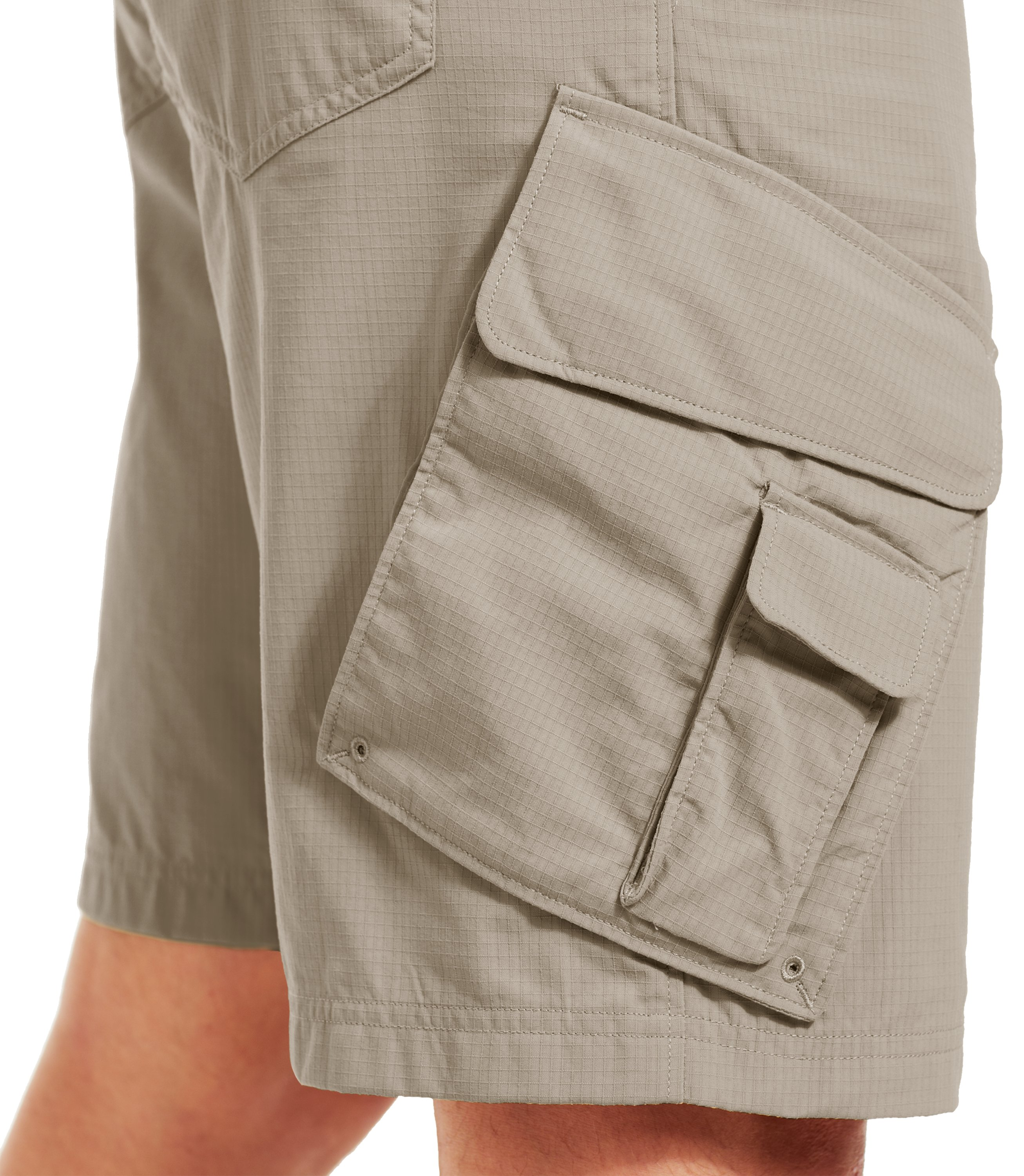Men's UA Guide III Short, Titanium, undefined