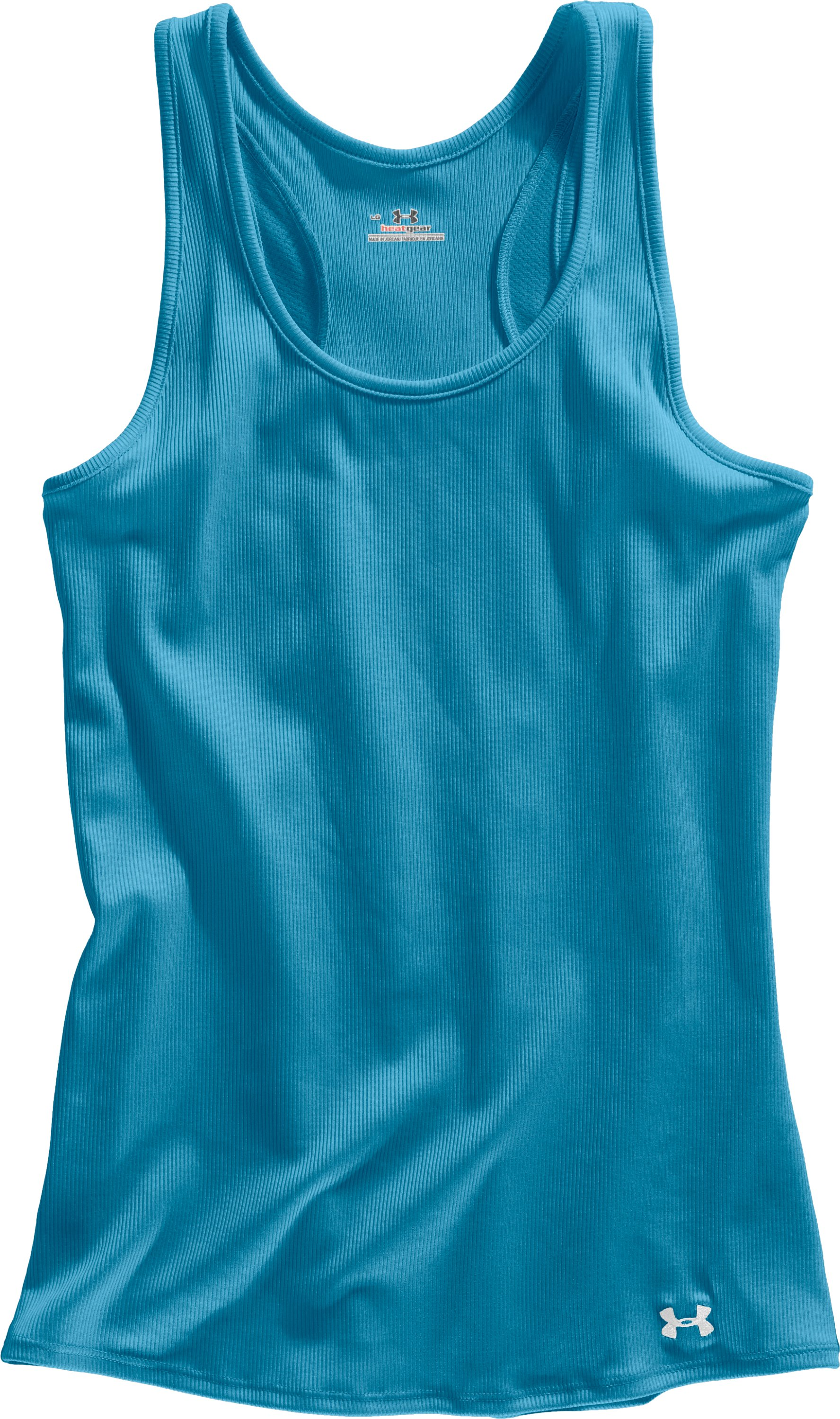 Women's UA Victory Tank Top, Deceit, Laydown