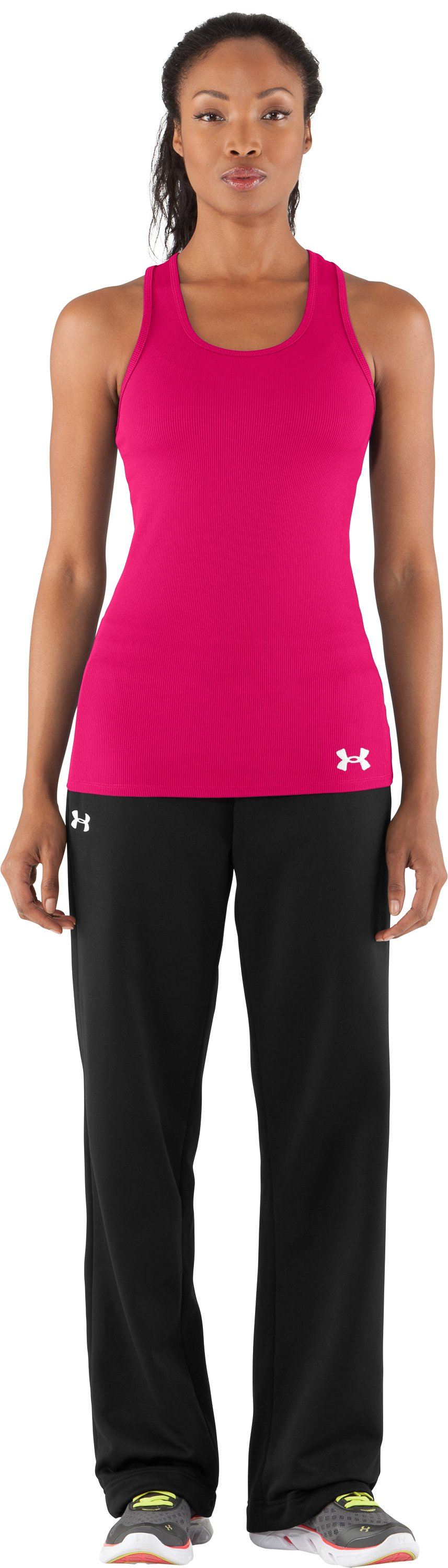 Women's UA Victory Tank Top, Cerise, Front