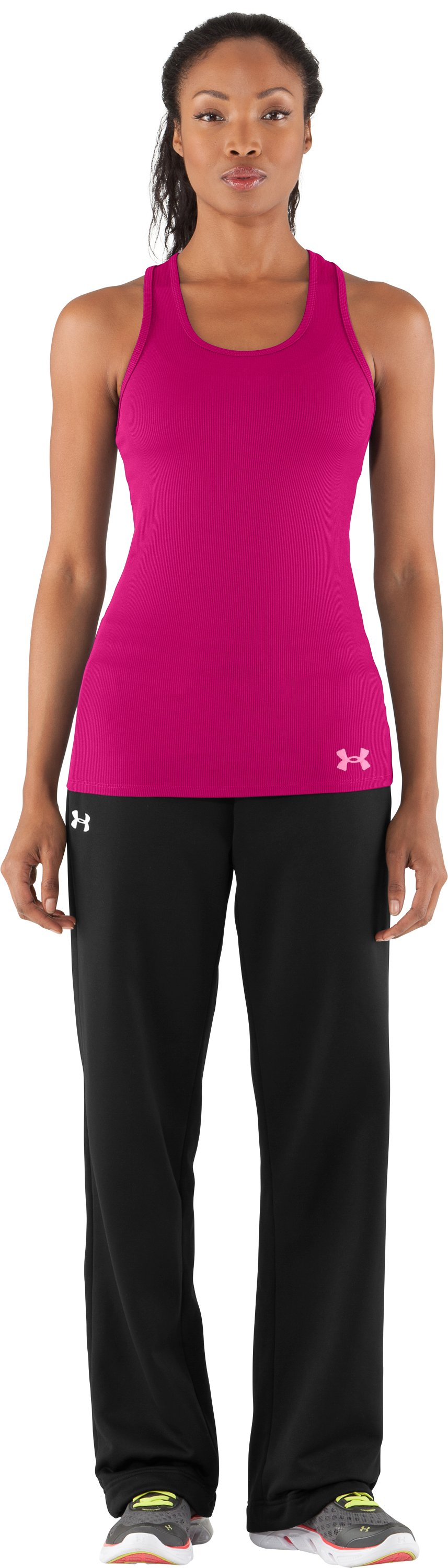 Women's UA Victory Tank Top, Rush, Front