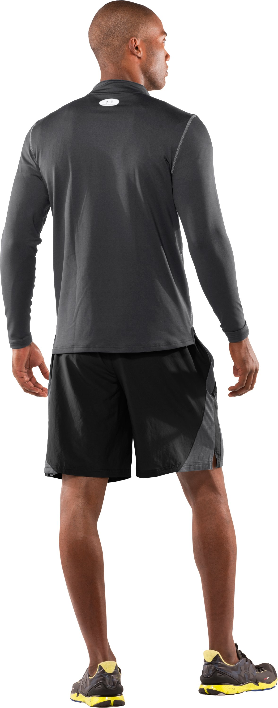 "Men's Transit 9"" Running Shorts, Black , Back"