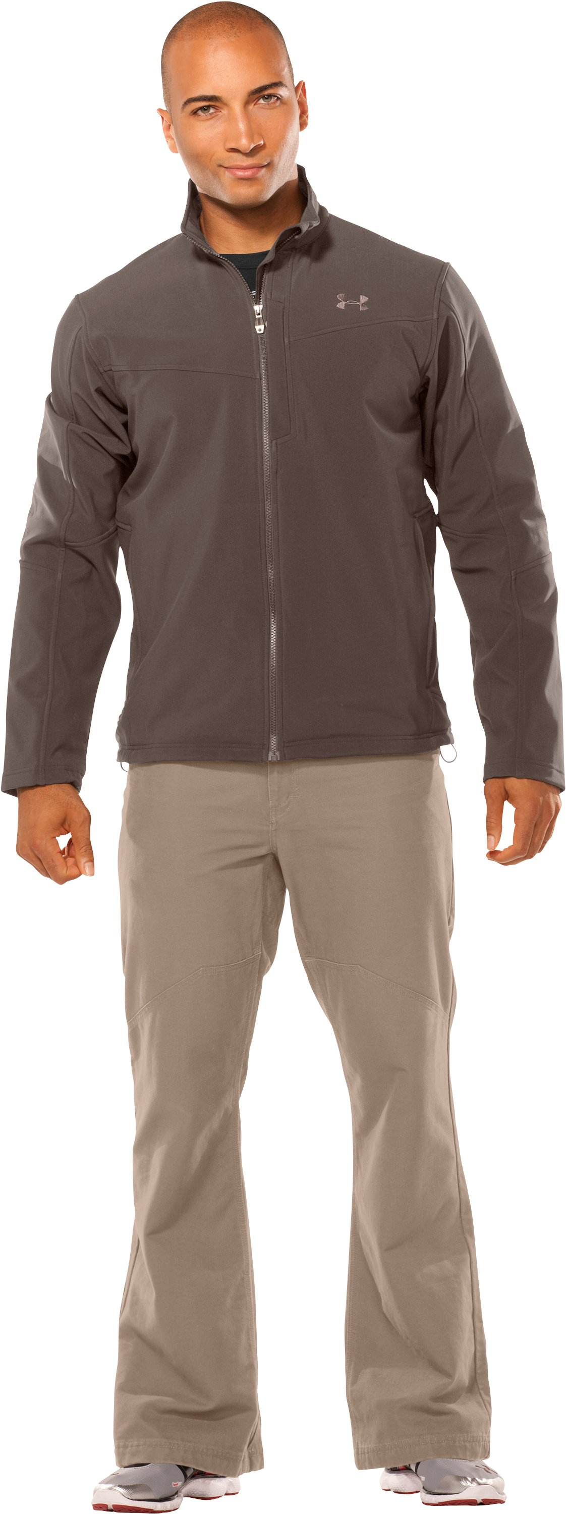 Men's Skyscraper Softshell Jacket, Hearthstone, Front