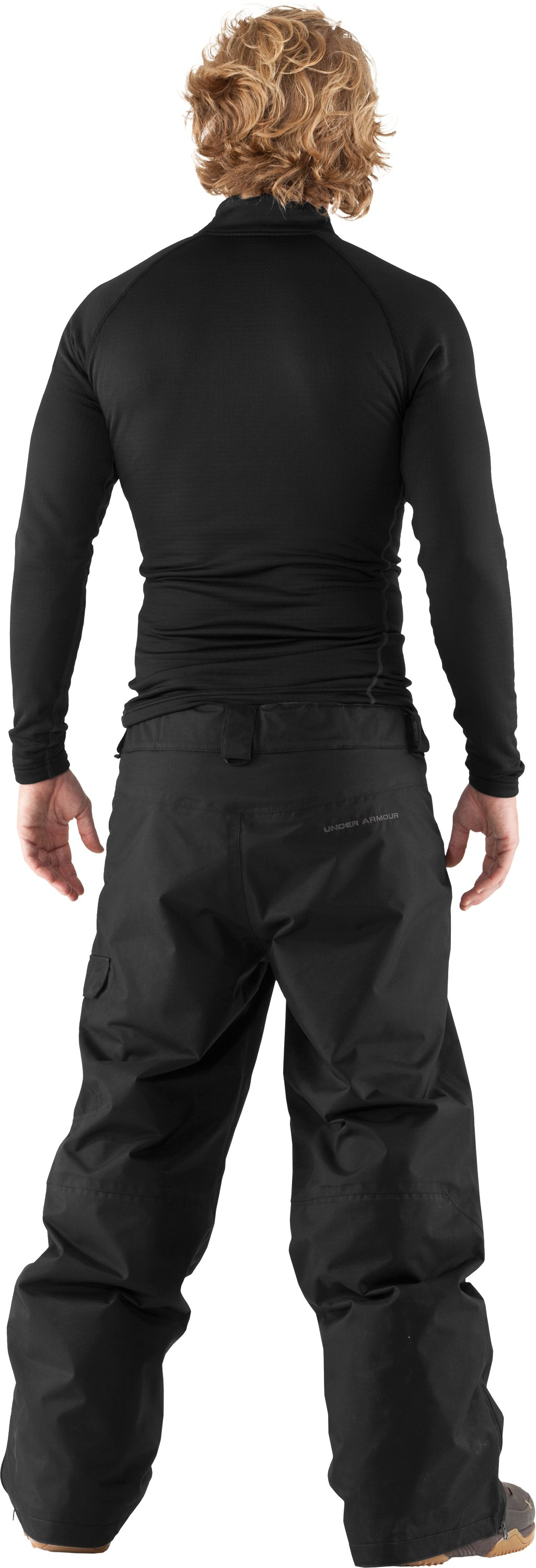 "Men's UA Flow Field 32"" Ski/Snowboard Pants, Black , Back"