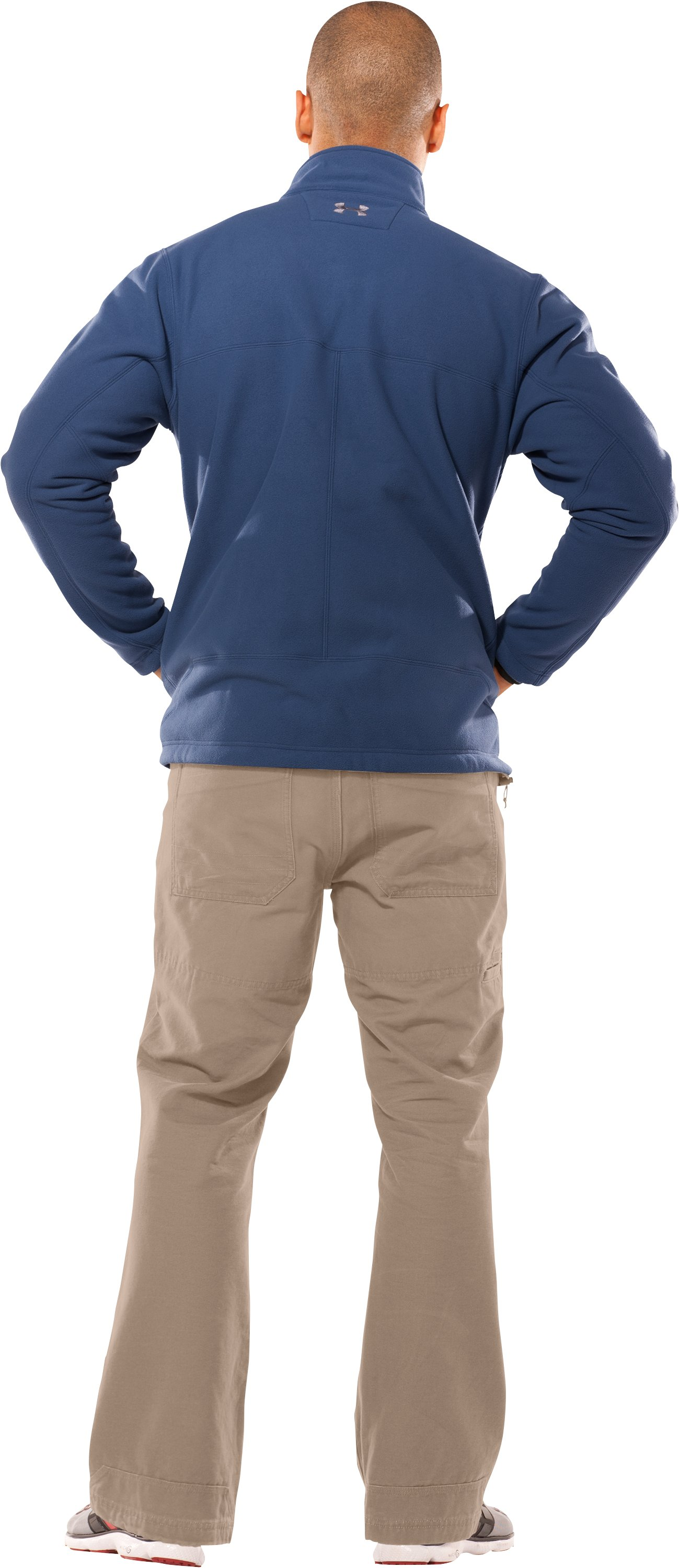 Men's Derecho II Windproof Fleece Jacket, Admiral, Back