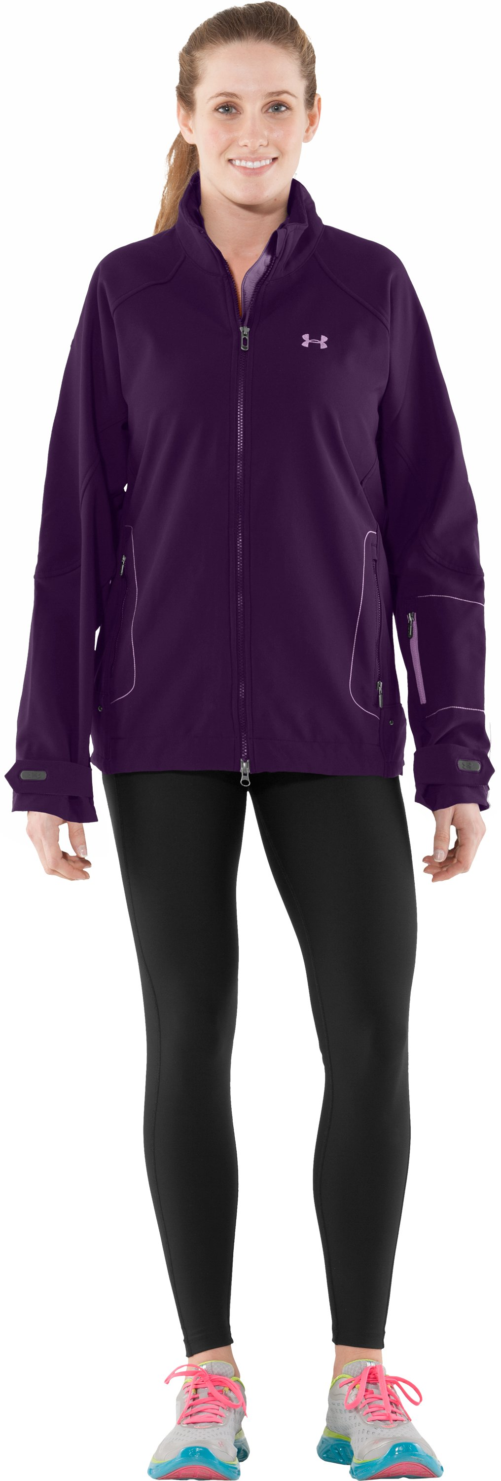 Women's Archean Softshell Jacket II, Cyclone, Front