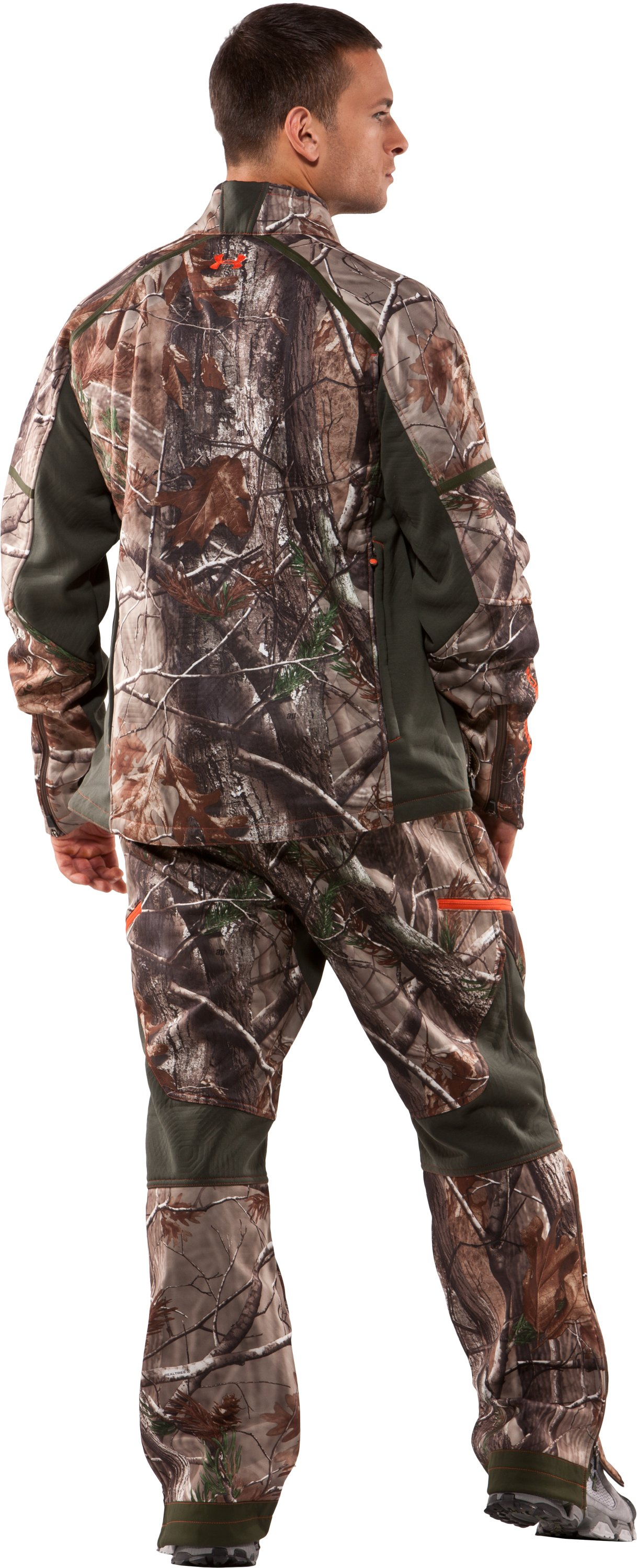 "Men's Ridge Reaper® 32"" Softshell Pants, Realtree AP, Back"