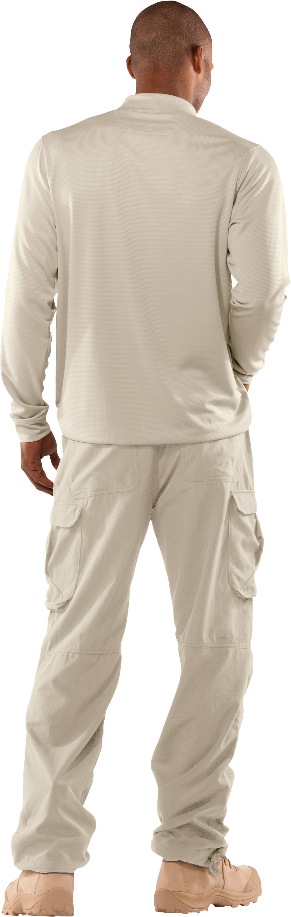 Men's Tactical Performance Field Pants, Desert Sand, Back