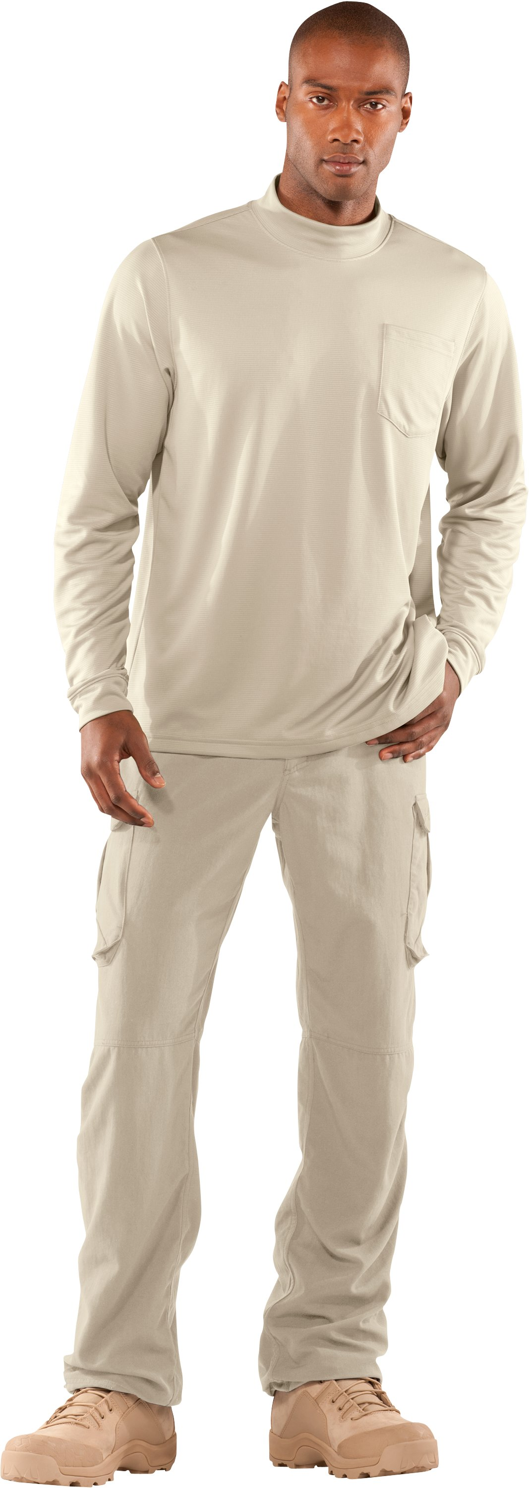 Men's Tactical Performance Field Pants, Desert Sand, Front