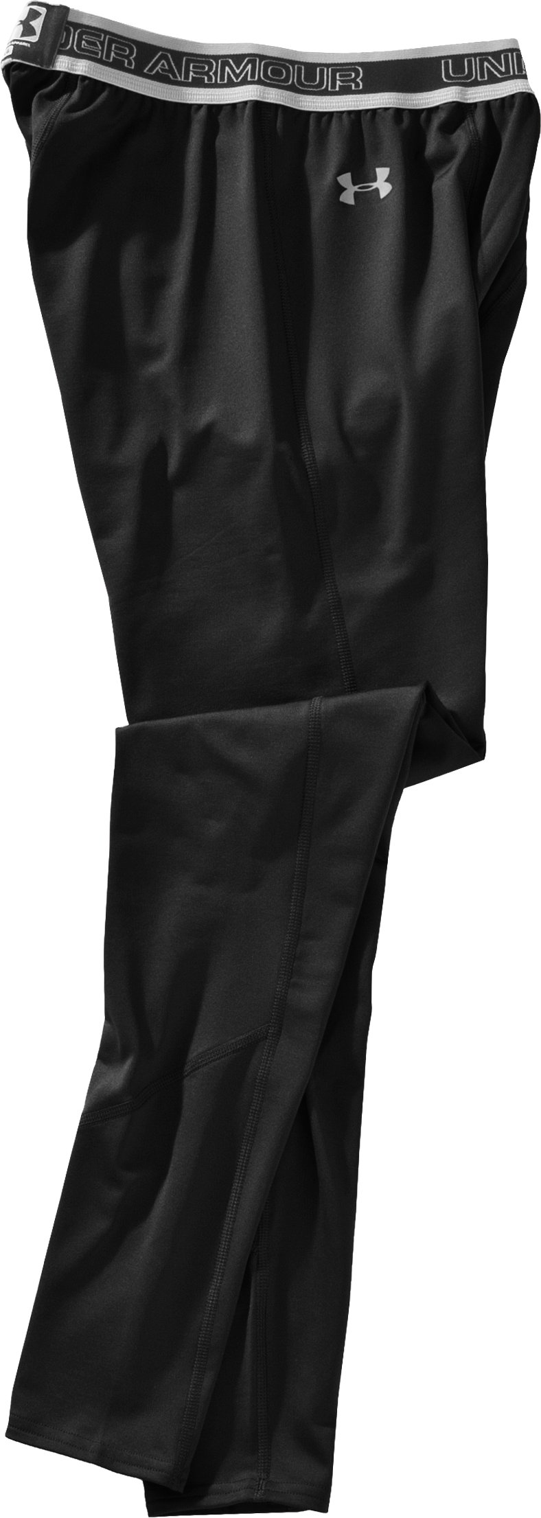Men's UA EVO ColdGear® Leggings, Black , Laydown