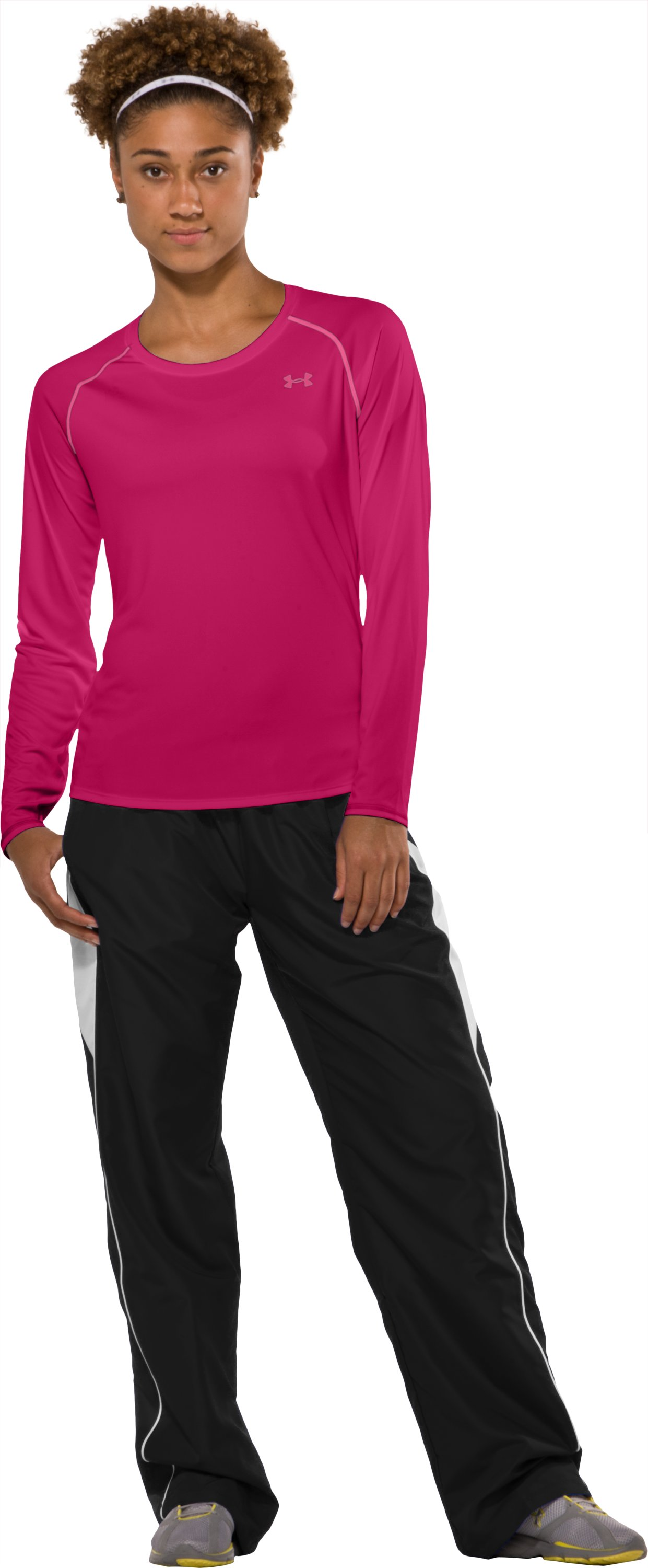 Women's UA Catalyst Long Sleeve T-Shirt, Gloss, zoomed image