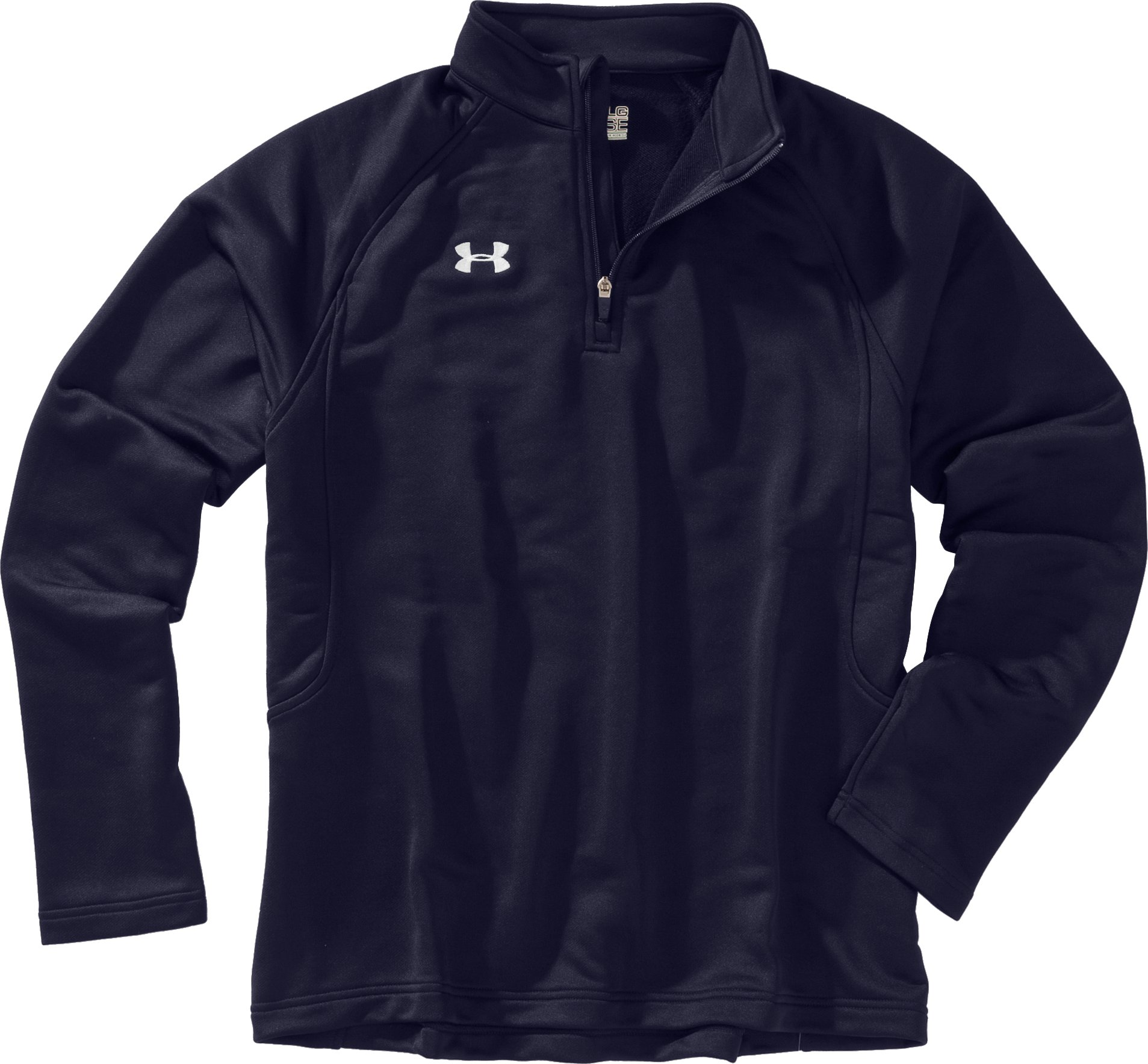Men's UA Scout ¼ Zip Pullover, Midnight Navy, Laydown