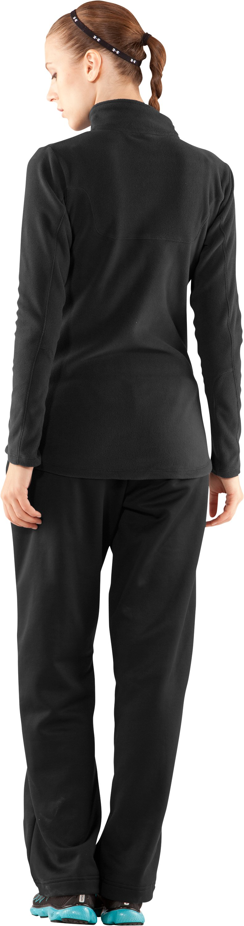 Women's Outer Limits Full Zip, Black , Back
