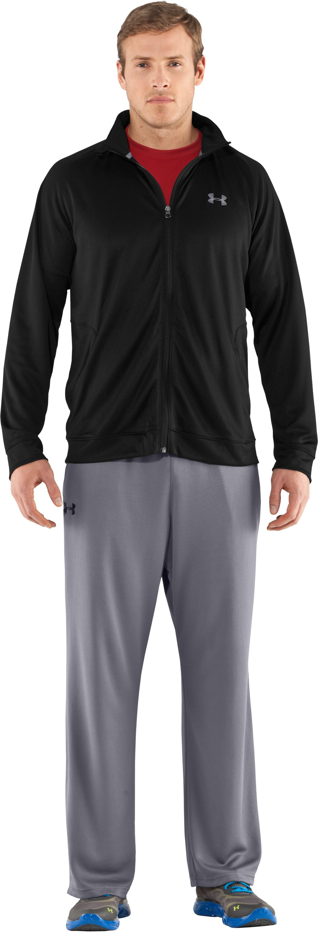 Men's UA Flex Jacket, Black , Front