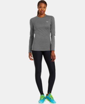 Women's ColdGear® Fitted Long Sleeve Crew  2 Colors $59.99