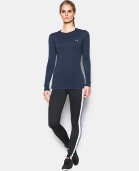 Women's ColdGear® Fitted Long Sleeve Crew  1 Color $49.99