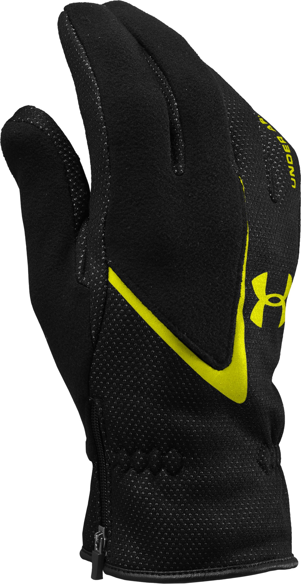 UA Extreme ColdGear® Gloves, Black , zoomed image