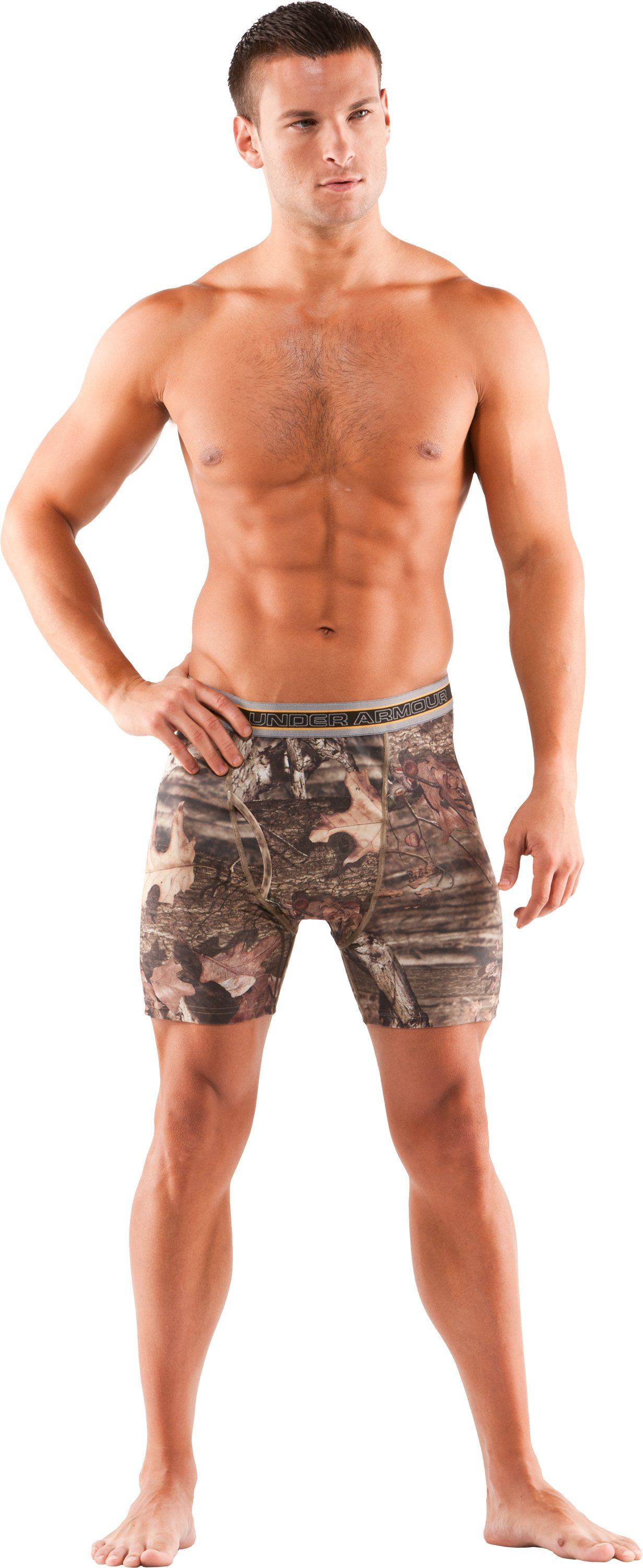 Men's Camo Boxerjock® Boxer Briefs, Mossy Oak Break-Up Infinity, Front