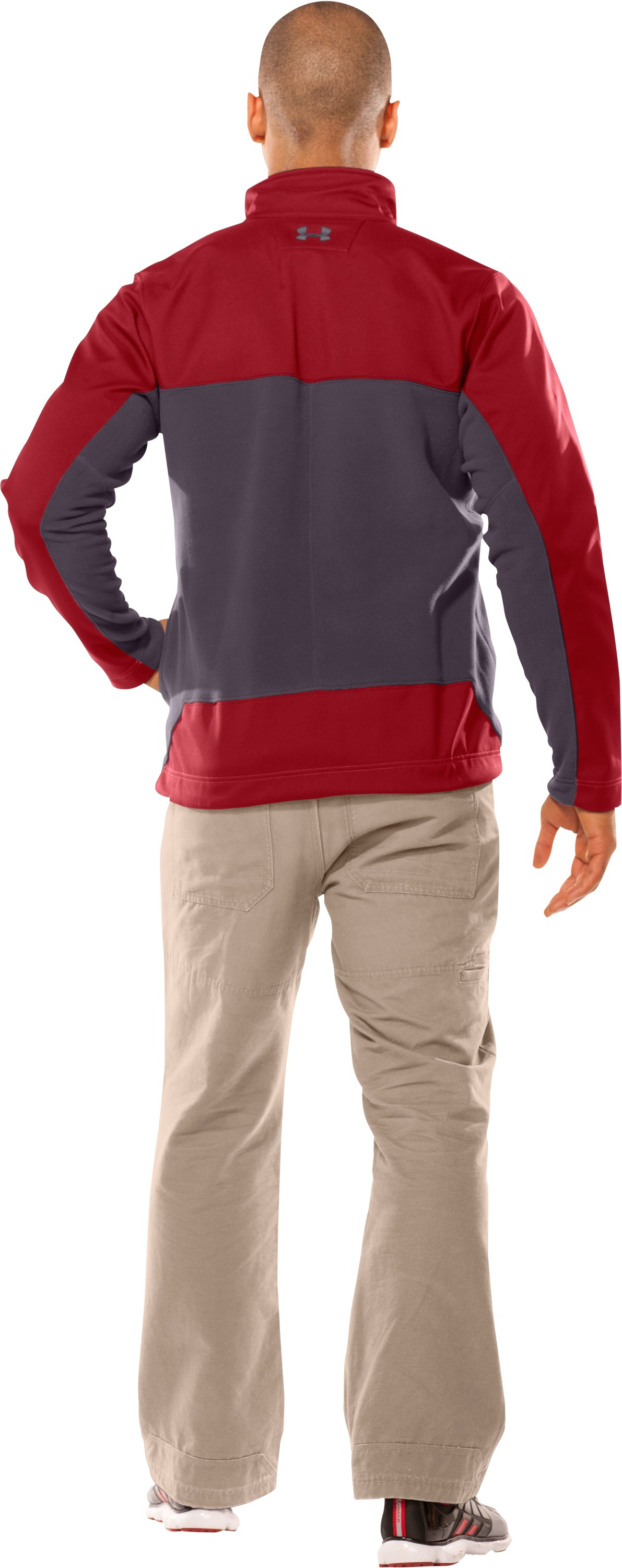 Men's Muroc Jacket, Crimson, Back
