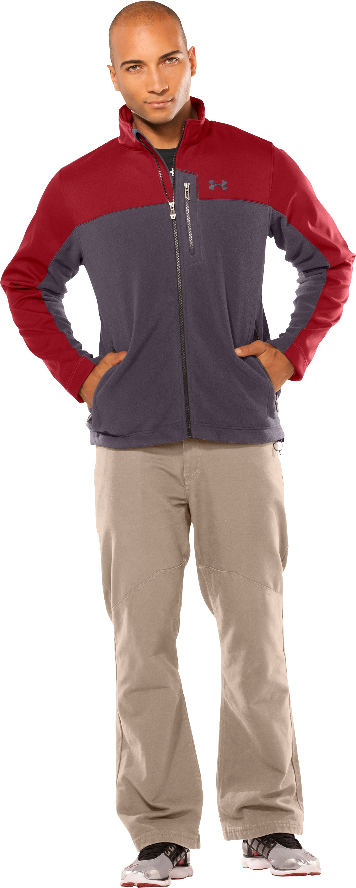 Men's Muroc Jacket, Crimson, Front
