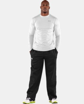 New to Outlet Men's ColdGear® Fitted Long Sleeve Crew  1 Color $29.99