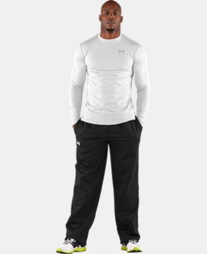 New to Outlet Men's ColdGear® Fitted Long Sleeve Crew   $29.99