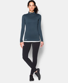 Women's ColdGear® Fitted Long Sleeve Mock
