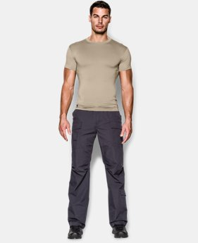 Men's Tactical HeatGear® Compression Short Sleeve T-Shirt LIMITED TIME: FREE SHIPPING 3 Colors $24.99