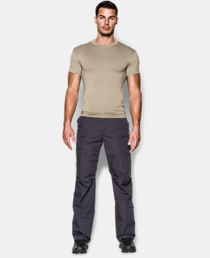 Men's Tactical HeatGear® Compression Short Sleeve T-Shirt LIMITED TIME: FREE U.S. SHIPPING 5 Colors $24.99