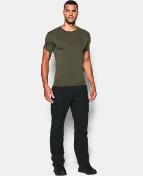 Best Seller Men's Tactical HeatGear® Compression Short Sleeve T-Shirt  1  Color Available $24.99