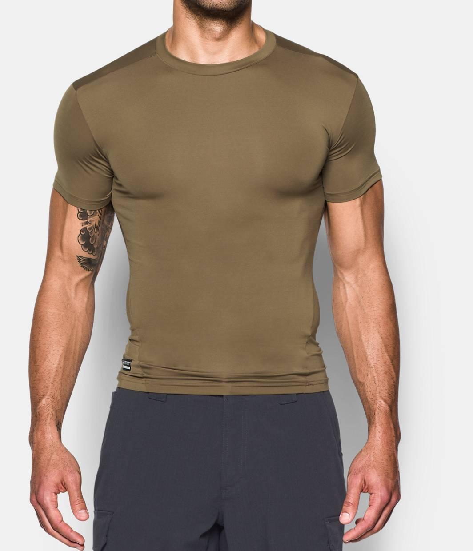 Men S Tactical Heatgear Compression Short Sleeve T Shirt