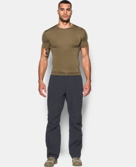 Men's Tactical HeatGear® Compression Short Sleeve T-Shirt  4 Colors $34.99