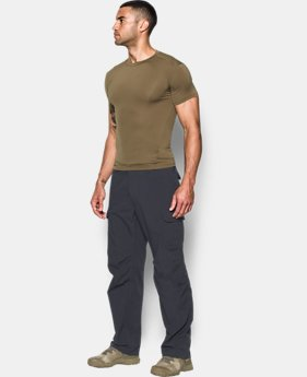 Men's Tactical HeatGear® Compression Short Sleeve T-Shirt  2 Colors $34.99
