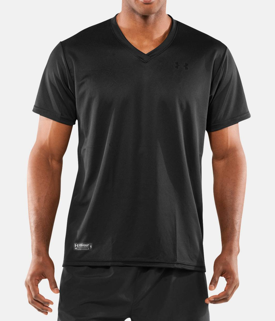 men s ua heatgear tactical v neck t shirt under armour us