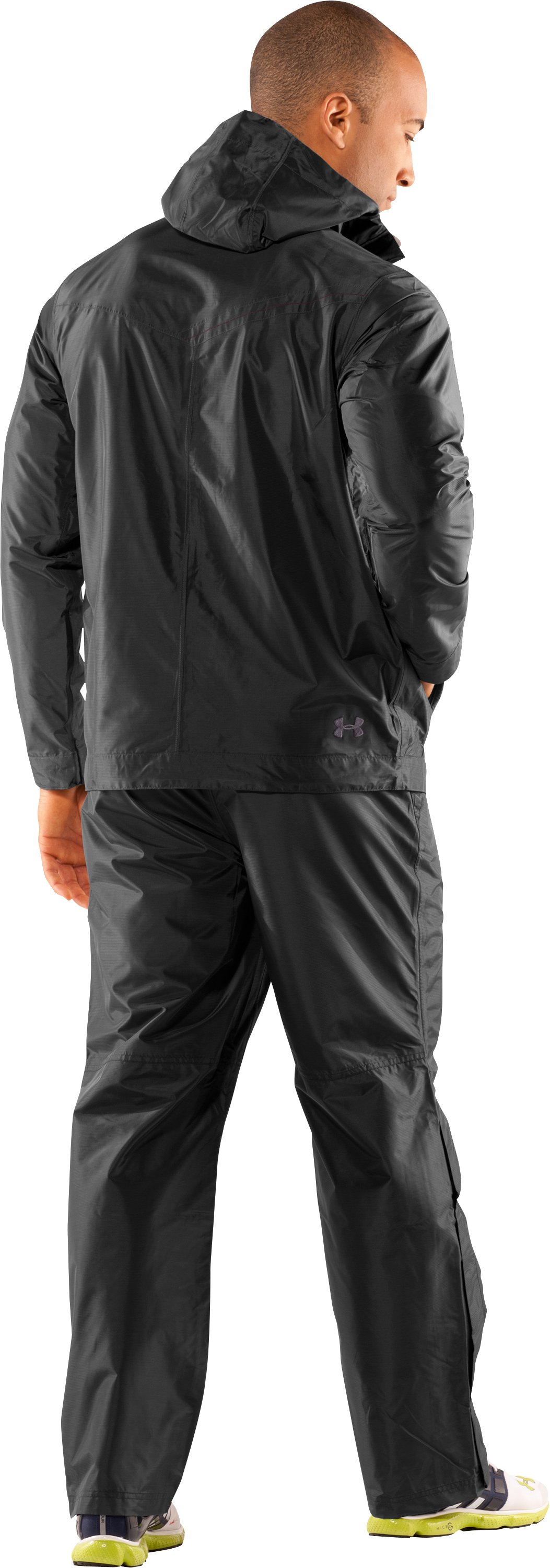 Men's Barragie Jacket II, Black , Back