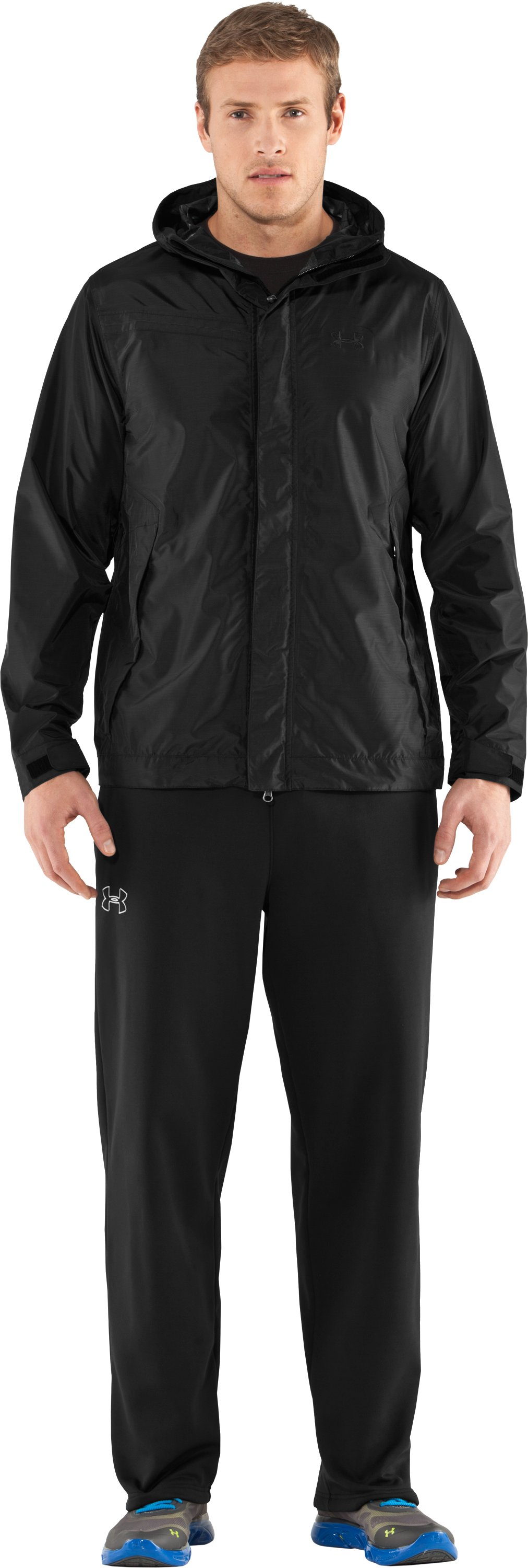 Men's Barragie Jacket II, Black , Front