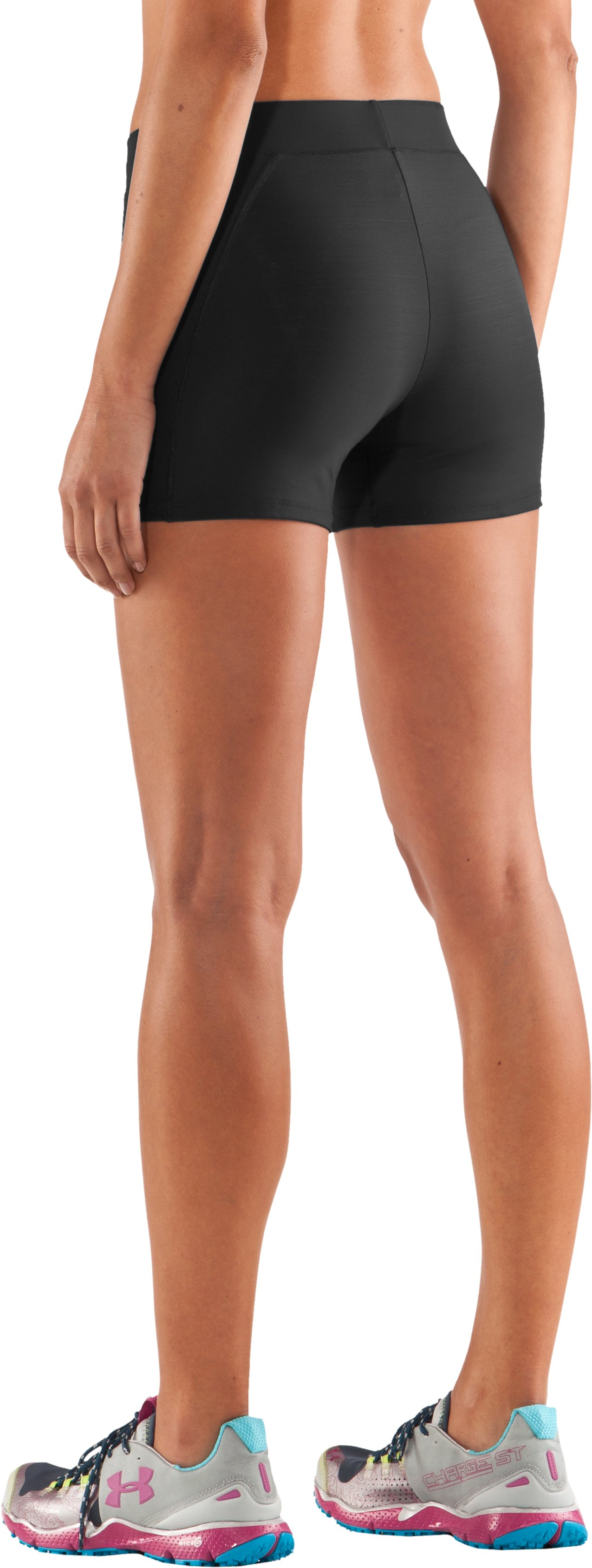 "Women's Ultra 2"" Compression Shorts, Black"