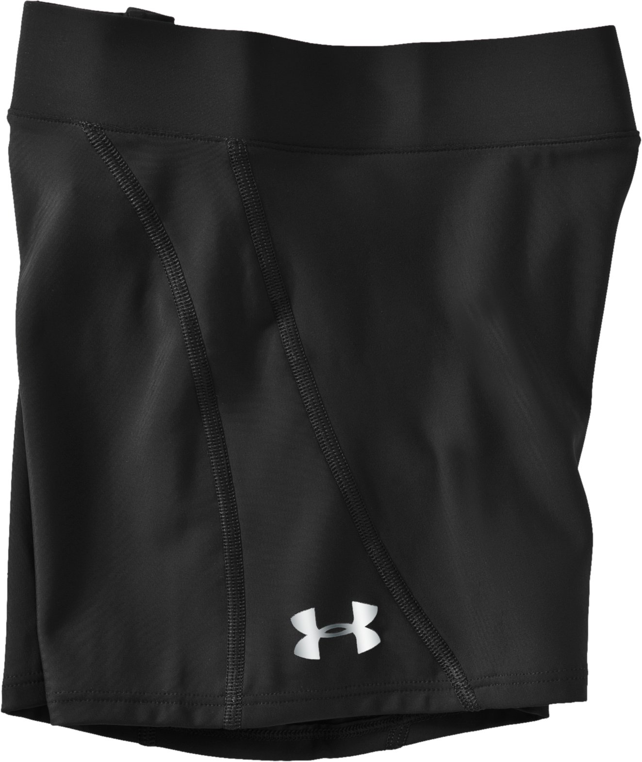 "Women's Ultra 2"" Compression Shorts, Black , Laydown"