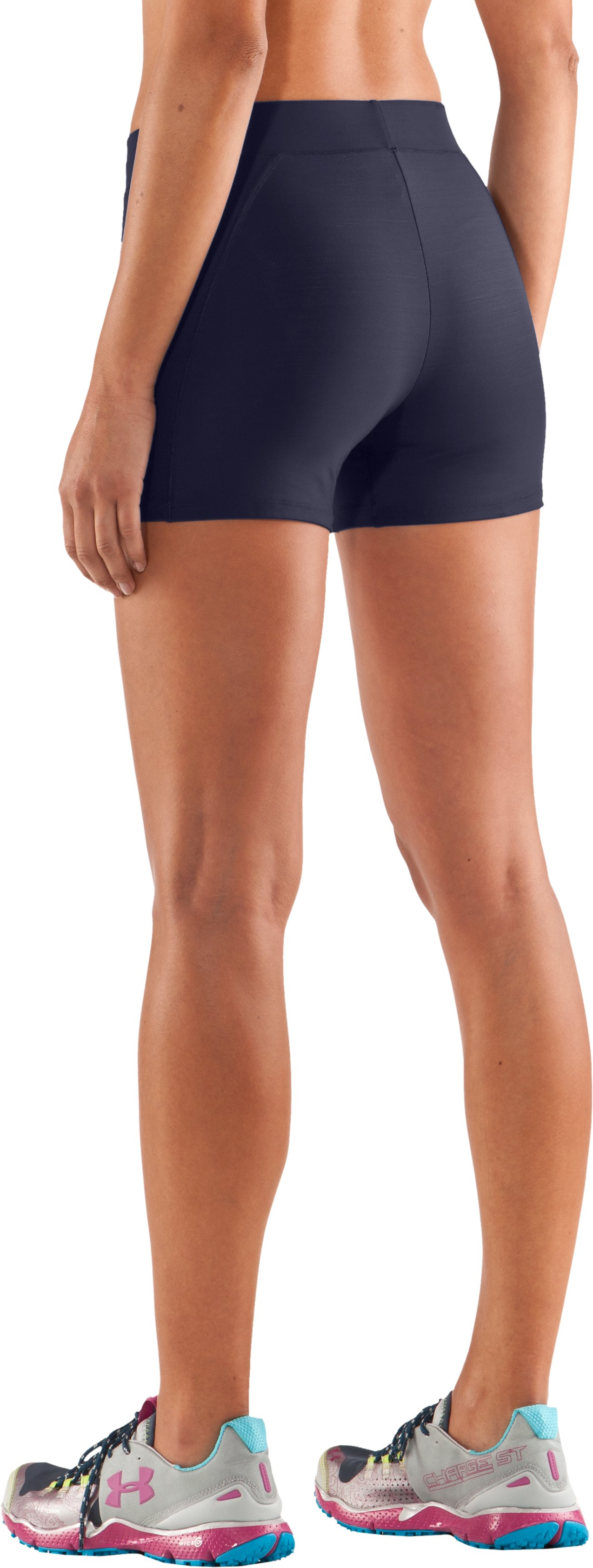 "Women's Ultra 2"" Compression Shorts, Midnight Navy,"