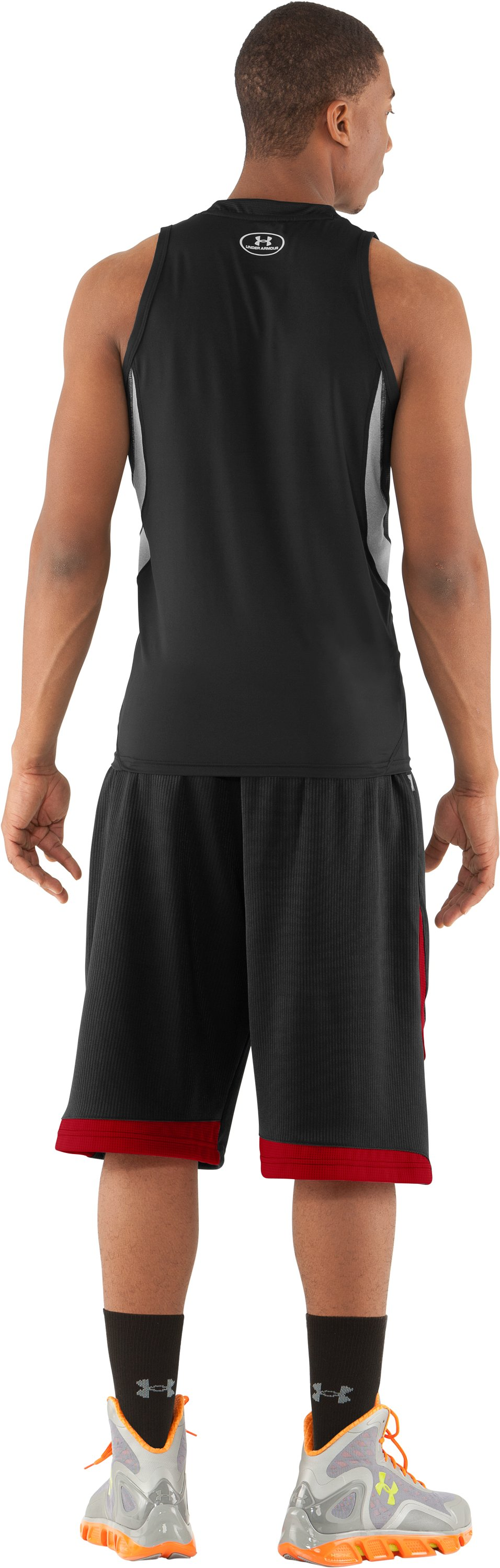 "Men's UA Valkyrie 12"" Basketball Short, Black , Back"